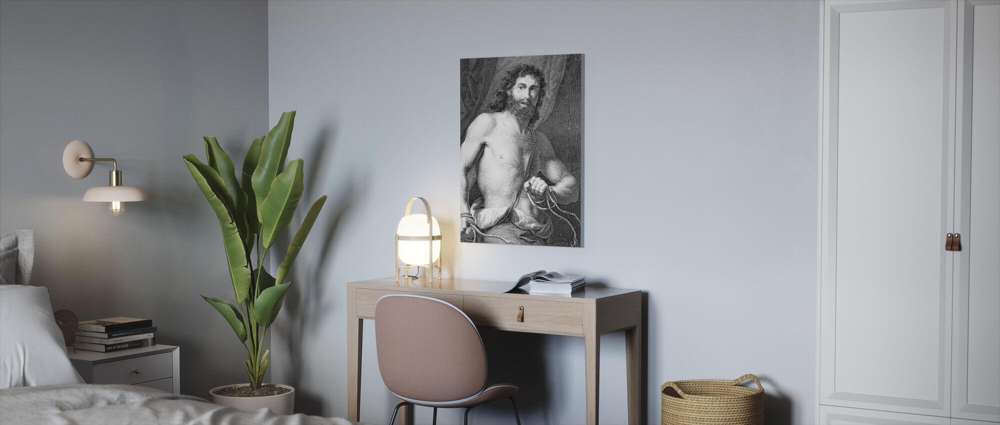 Bijbelse held Samson - Canvas print - Kantoor