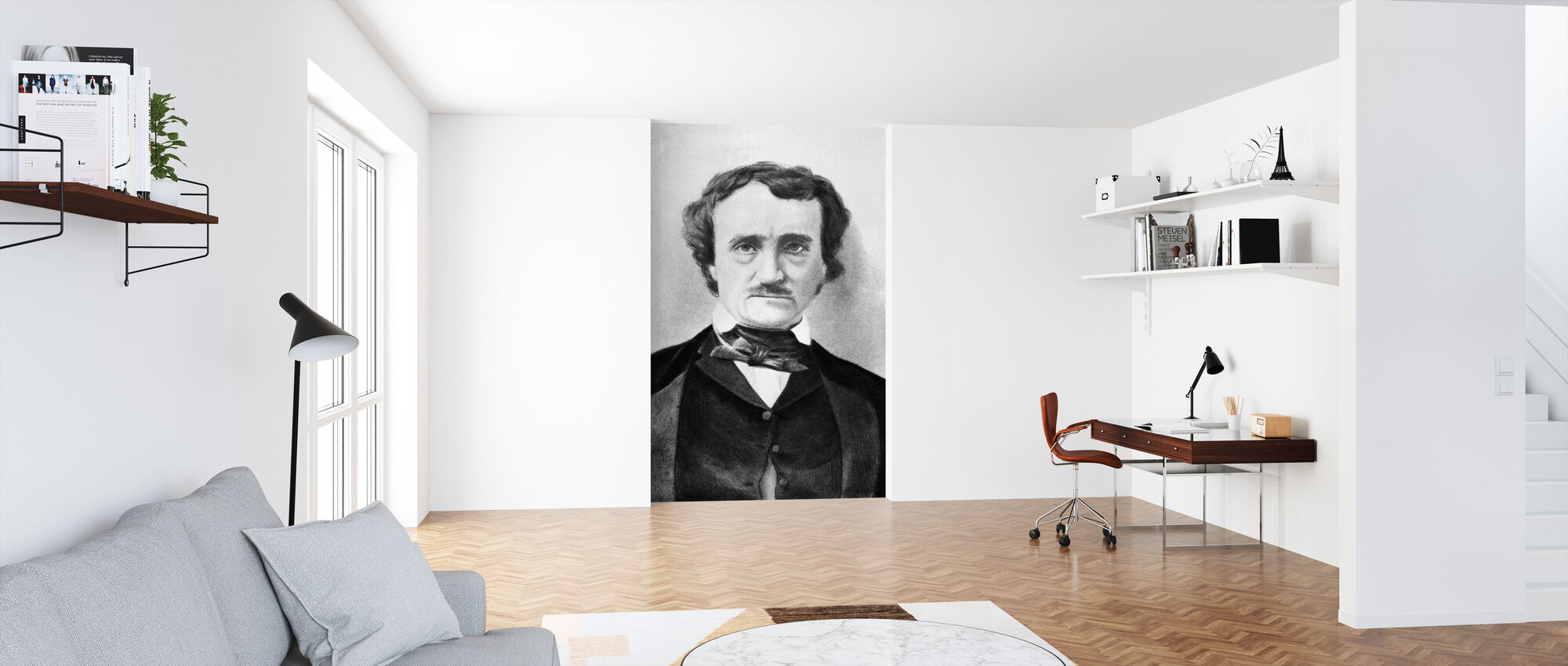 Edgar Allan Poe - Wallpaper - Office