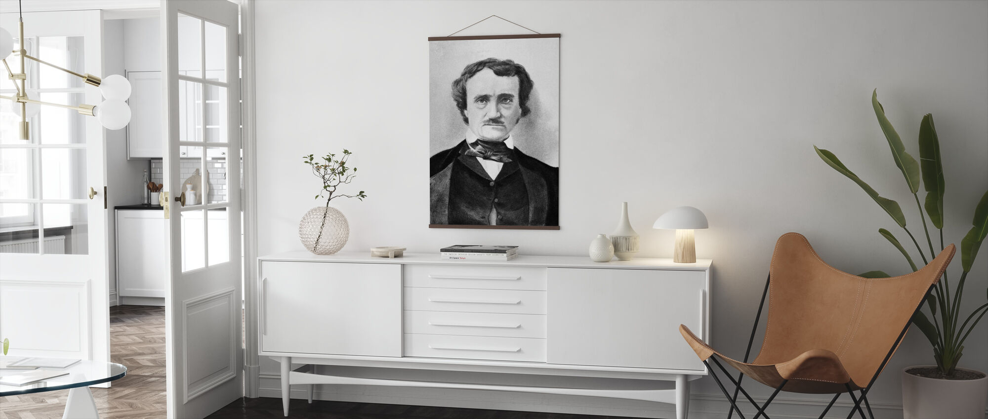 Edgar Allan Poe - Poster - Living Room