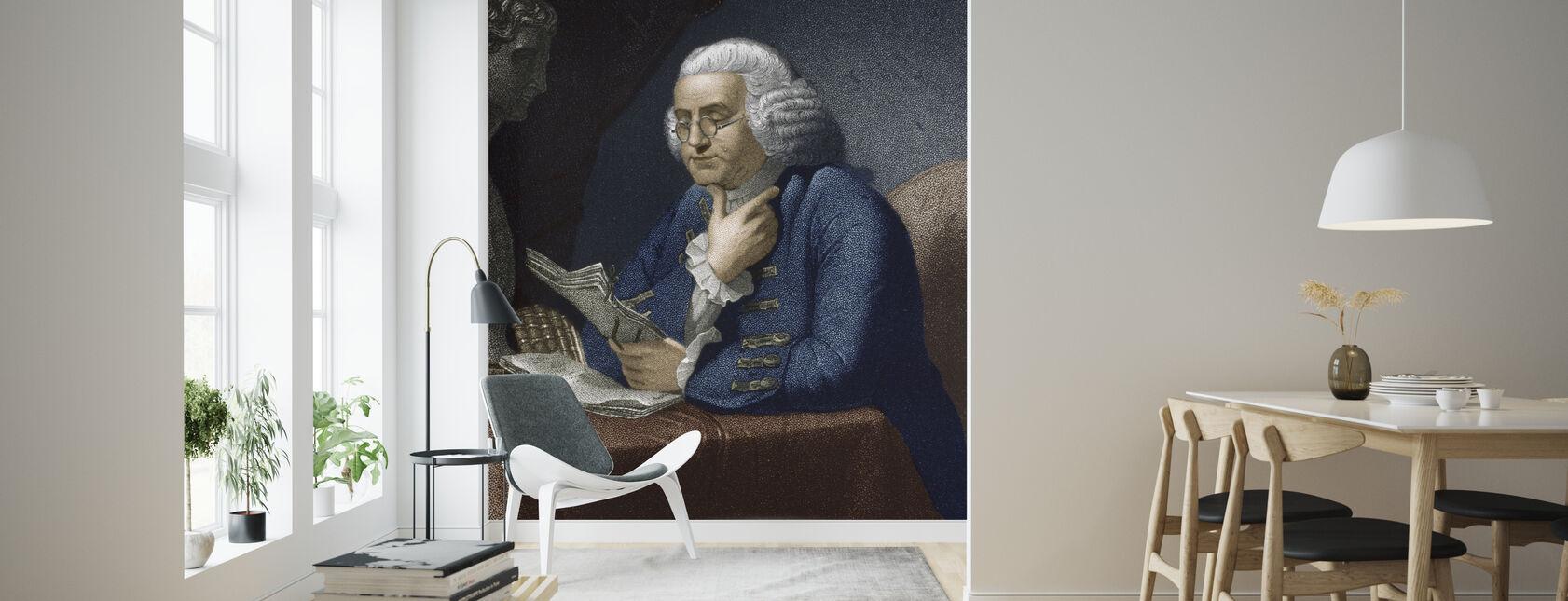 Benjamin Franklin - Wallpaper - Living Room