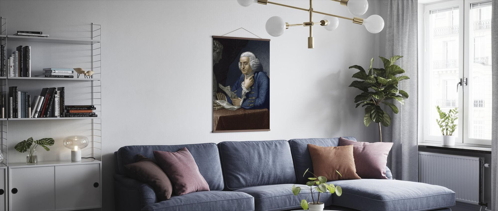 Benjamin Franklin - Poster - Living Room