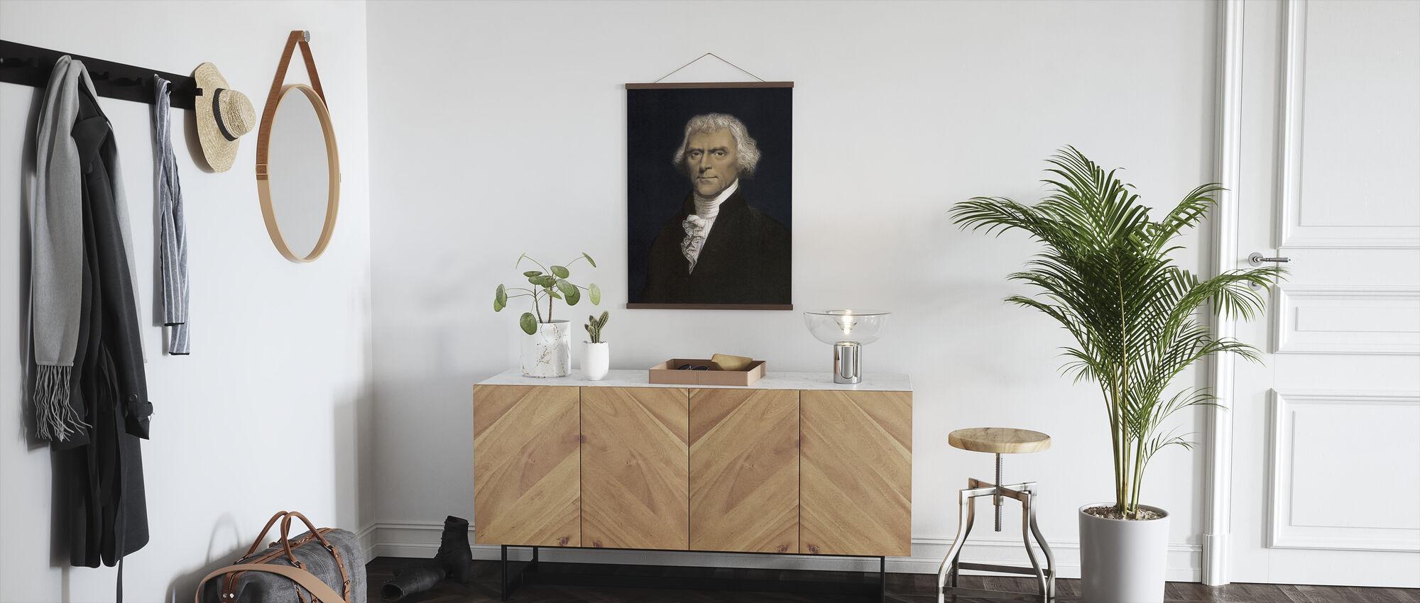 Thomas Jefferson - Poster - Hallway