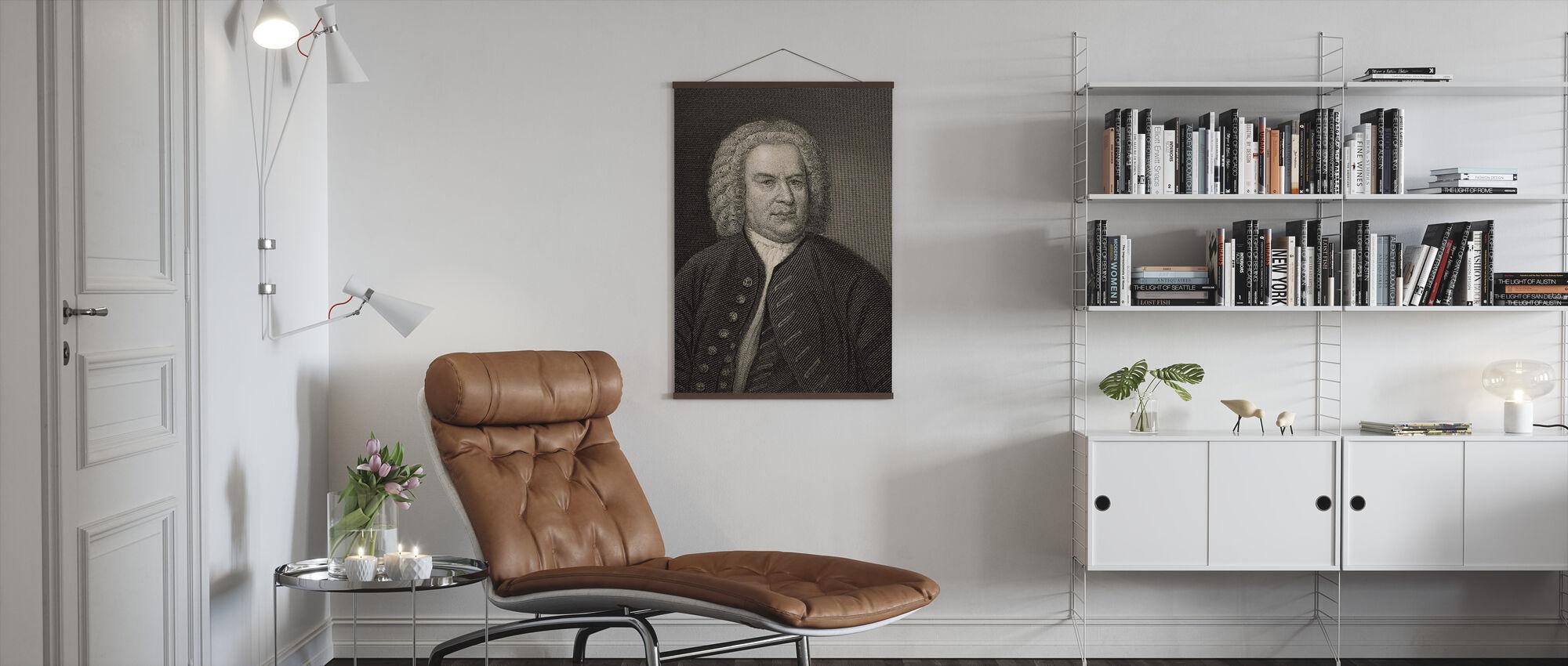 Johann Sebastian Bach - Poster - Living Room