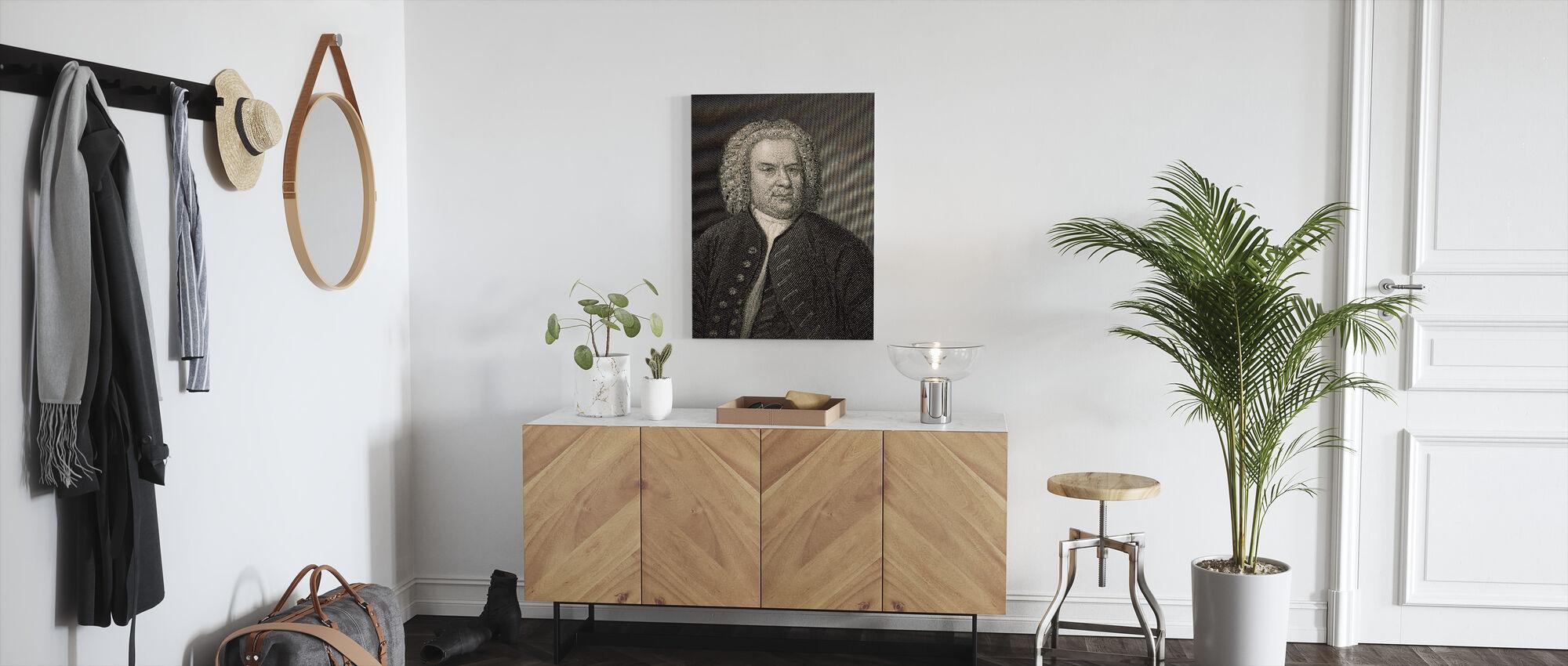 Johann Sebastian Bach - Canvas print - Hallway