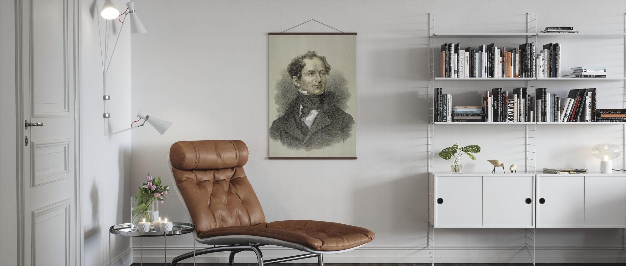 Thomas Moore - Poster - Living Room