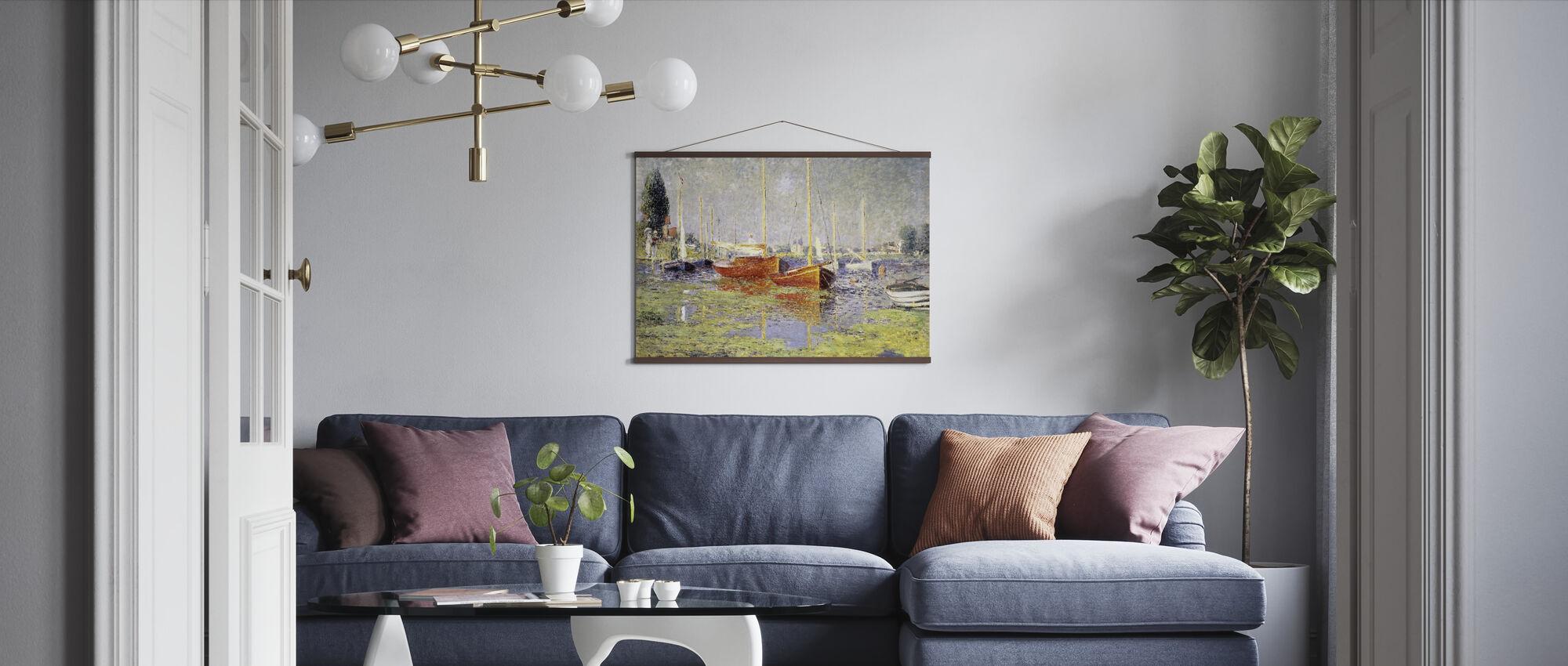Argenteuil - Claude Monet - Poster - Living Room