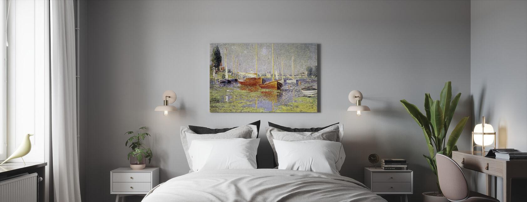 Argenteuil - Claude Monet - Canvas print - Bedroom