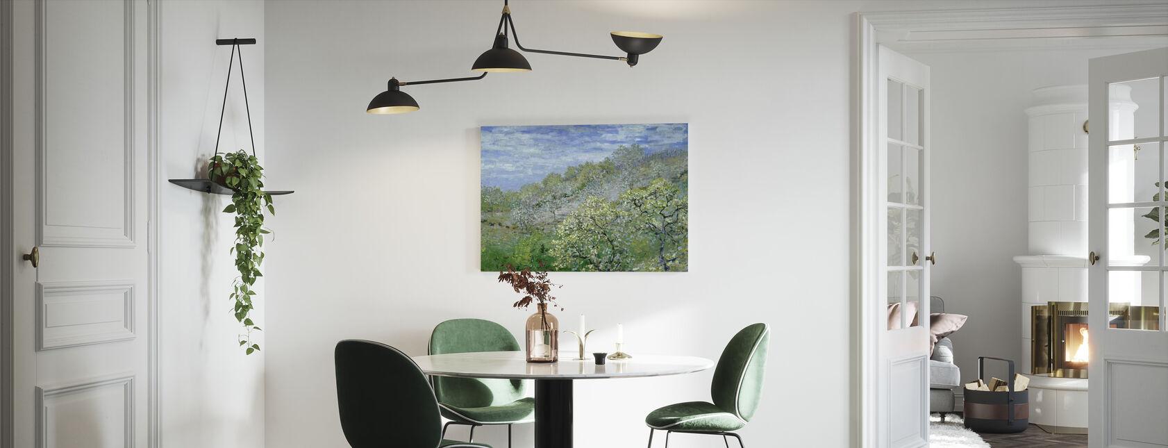 Trees in Bloom - Claude Monet - Canvas print - Kitchen
