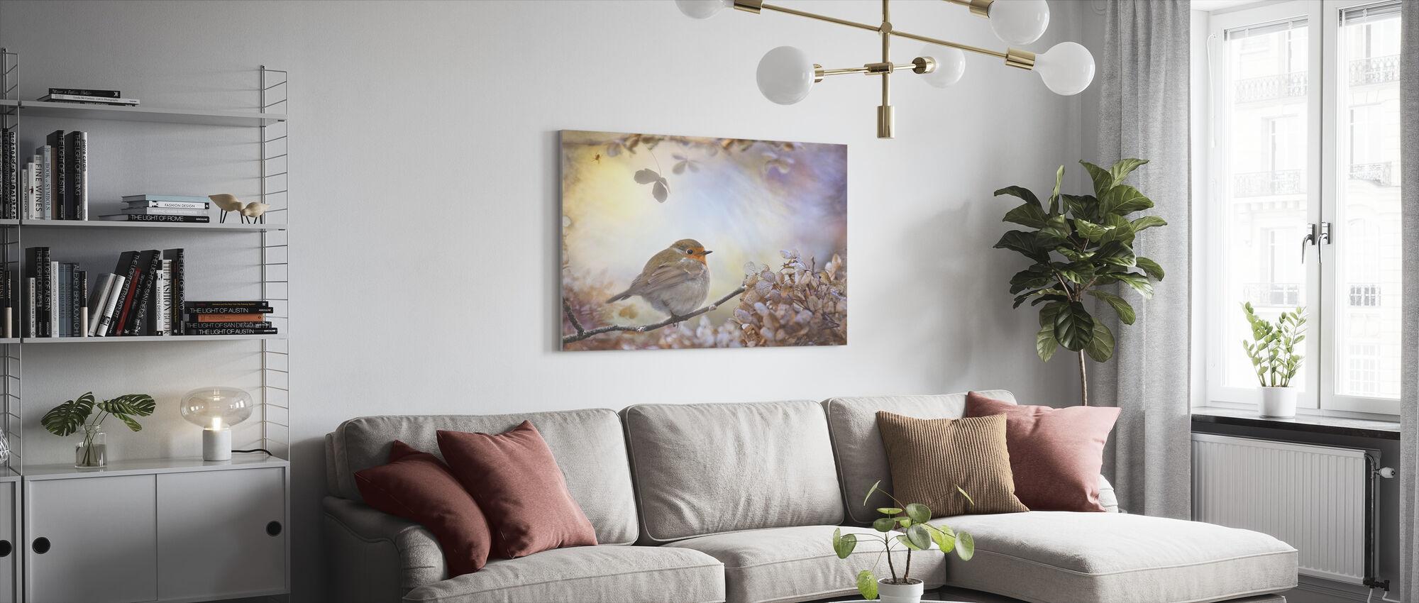Robin unia - Canvastaulu - Olohuone