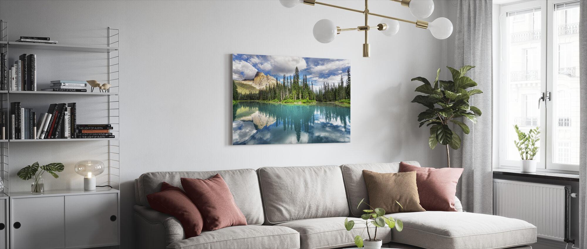 Emerald - Canvas print - Living Room
