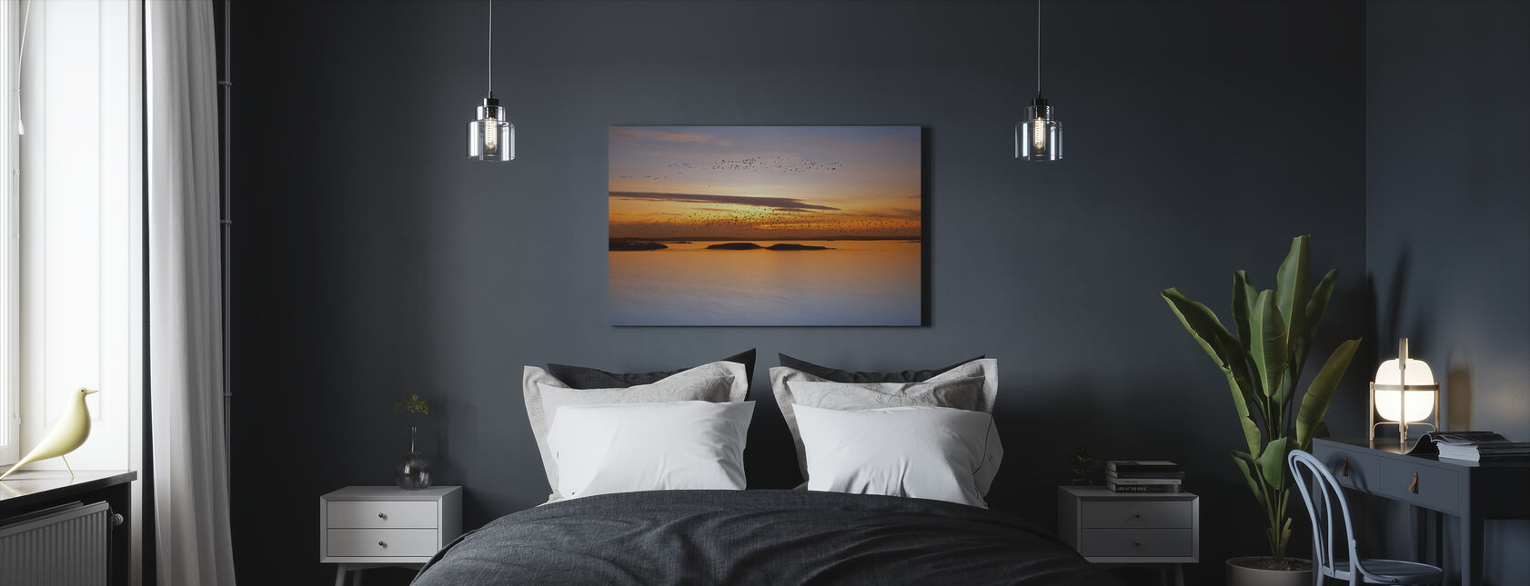 Sunset - Canvas print - Bedroom