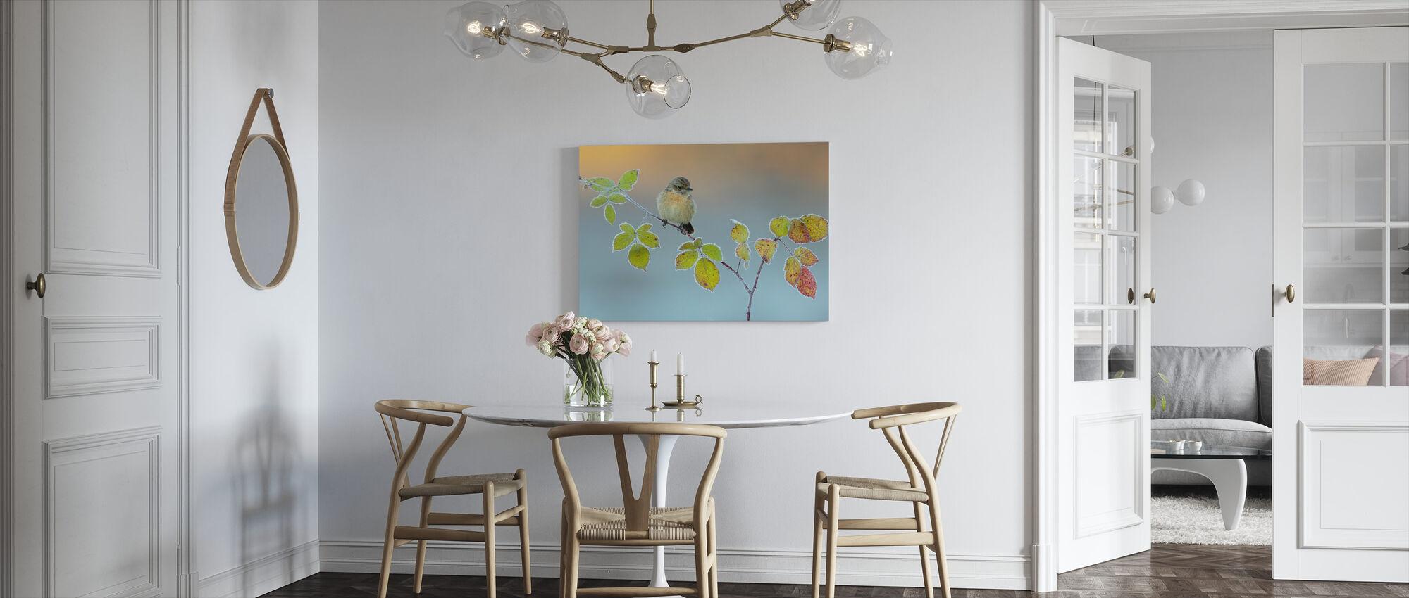 Winter Colors - Canvas print - Kitchen