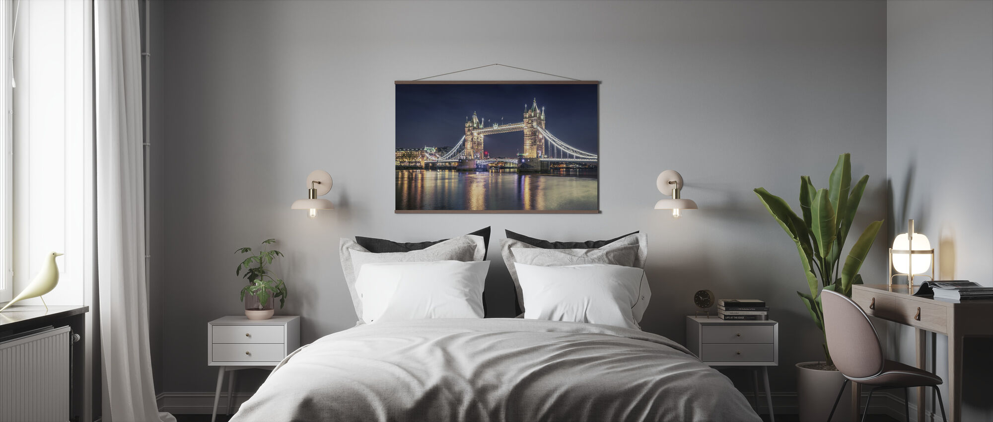 Night at the Tower Bridge - Poster - Bedroom