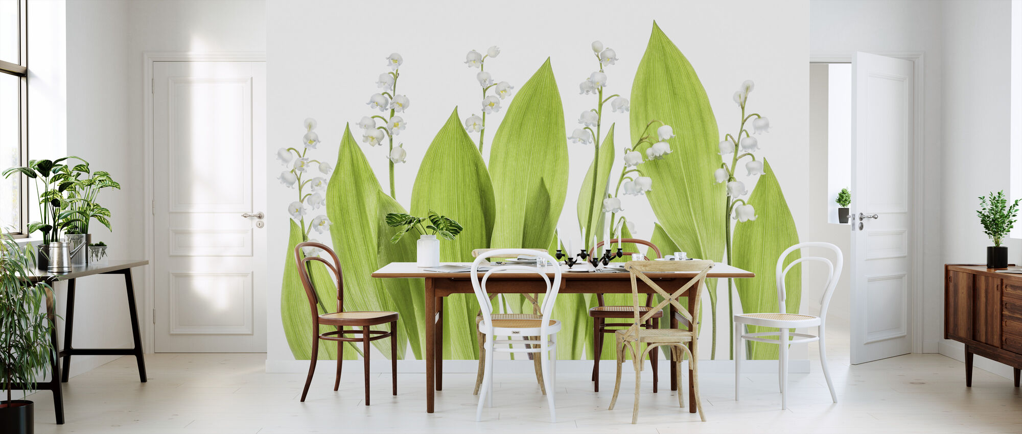 Lily of the Valley - Wallpaper - Kitchen