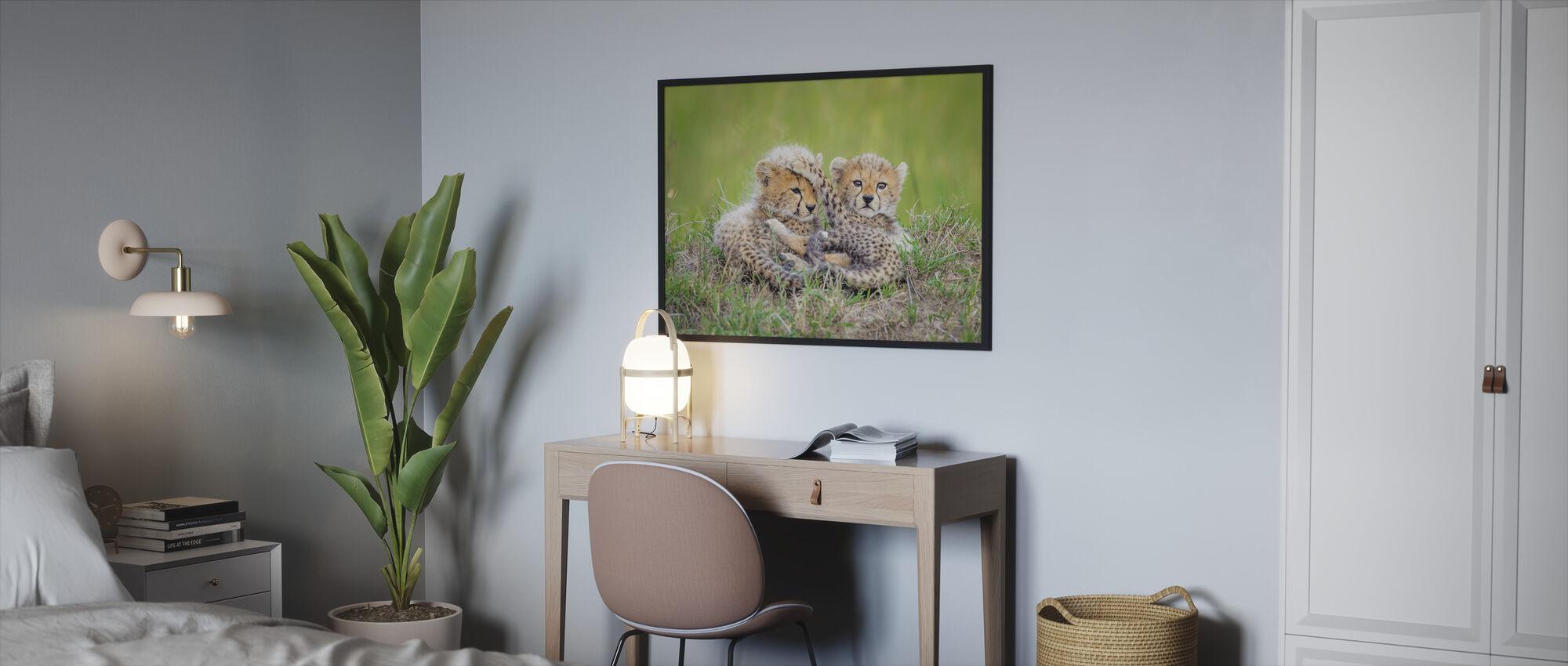 Promising - Framed print - Bedroom