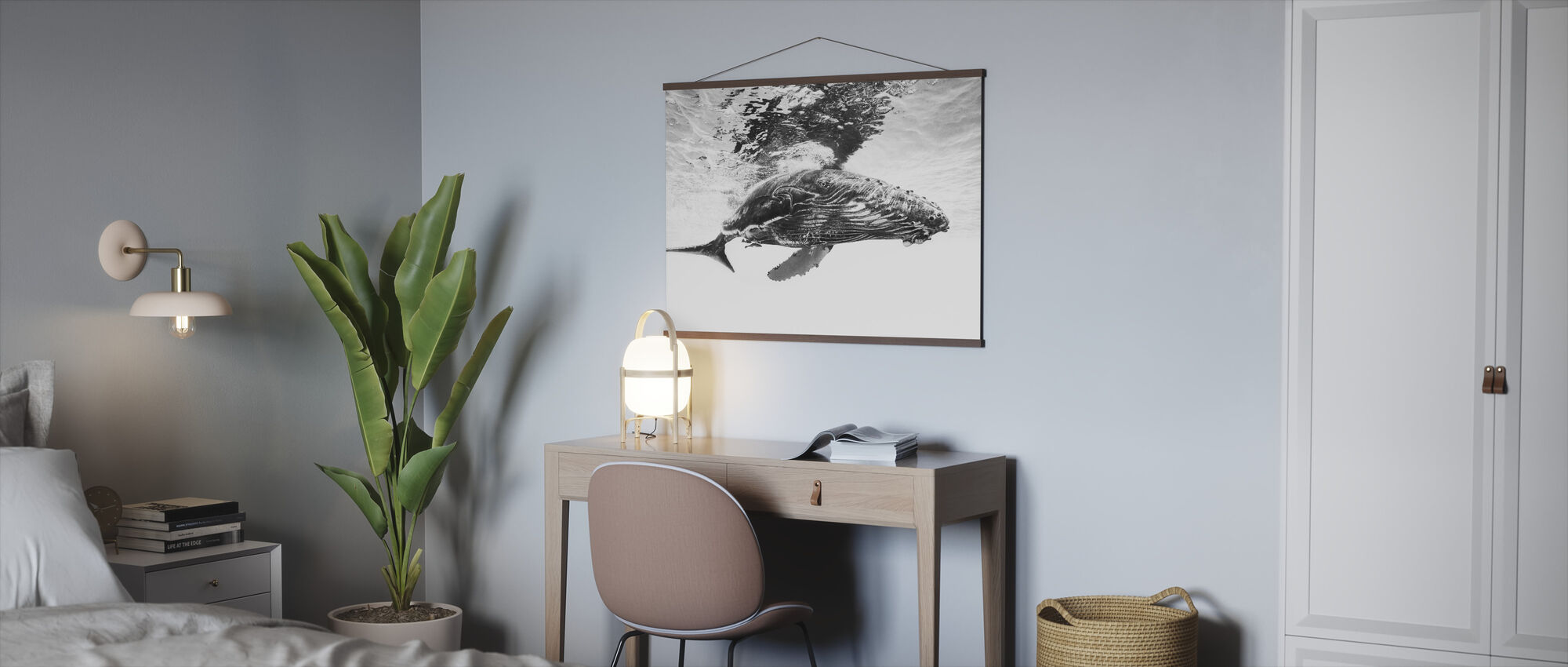 Humpback Whale Calf - Poster - Office