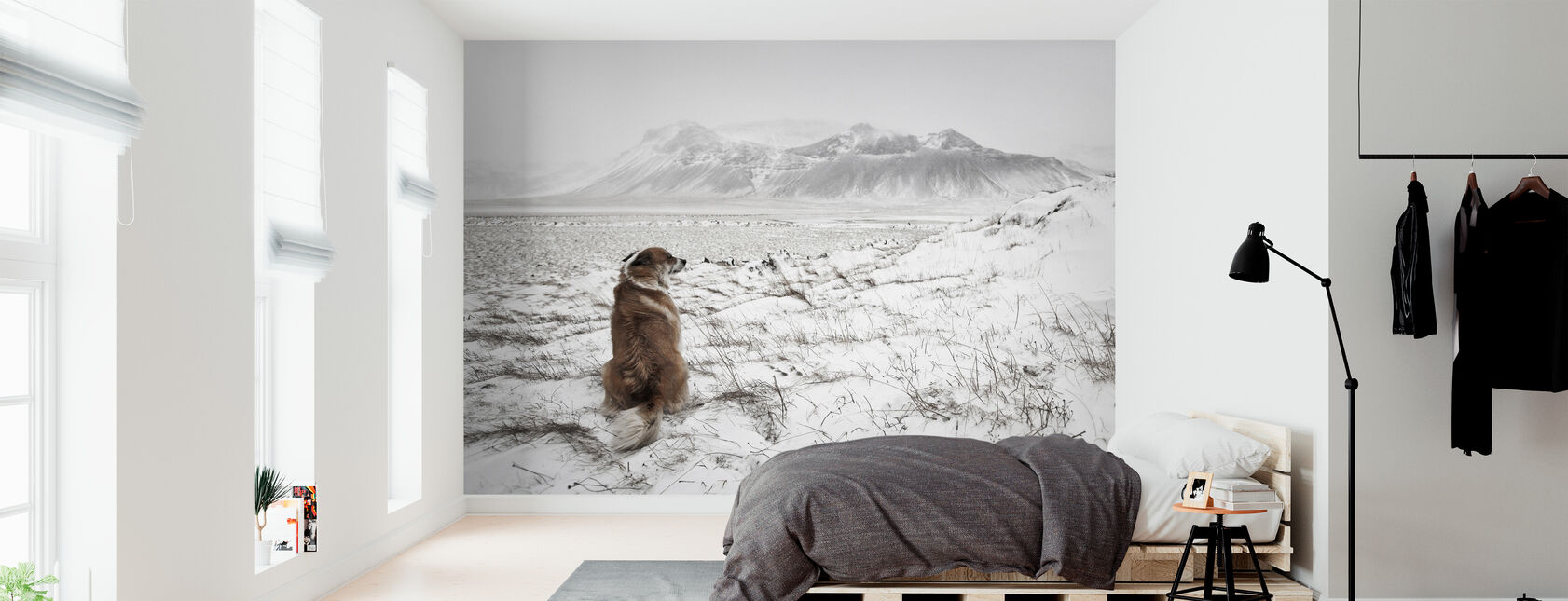 Snowstorm - Wallpaper - Bedroom