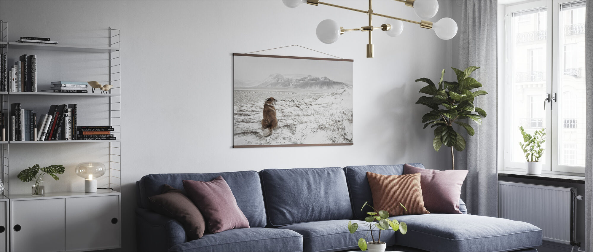 Snowstorm - Poster - Living Room