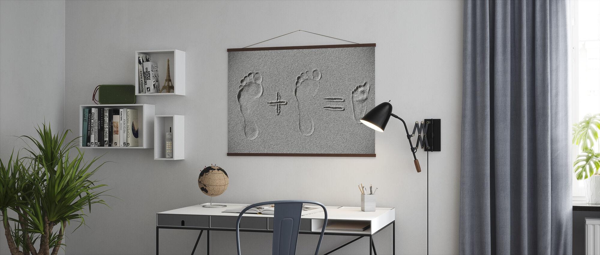 Sand aritmetikk - Plakat - Kontor