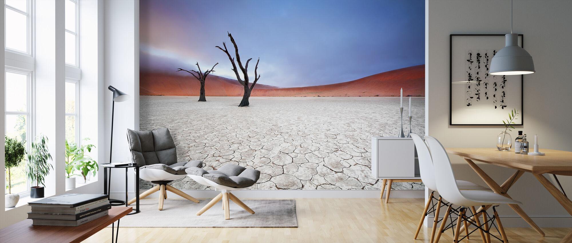 Mist over Deadvlei - Wallpaper - Living Room