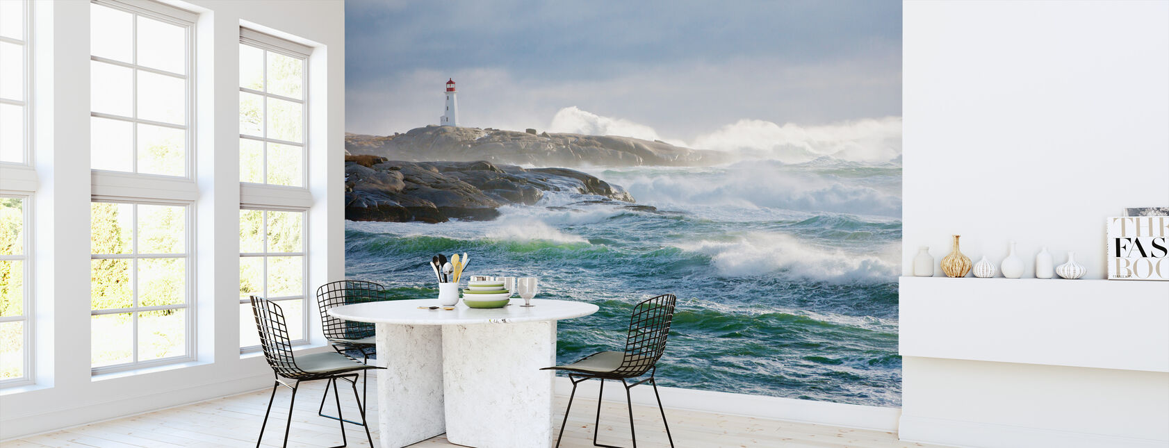 Protection of a Lighthouse - Wallpaper - Kitchen