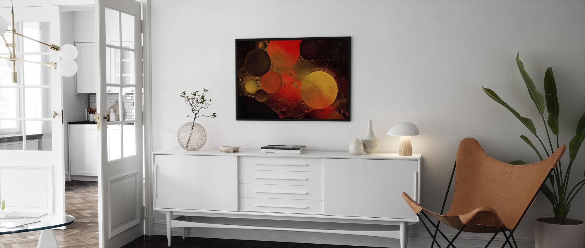 Astronomical - Framed print - Living Room