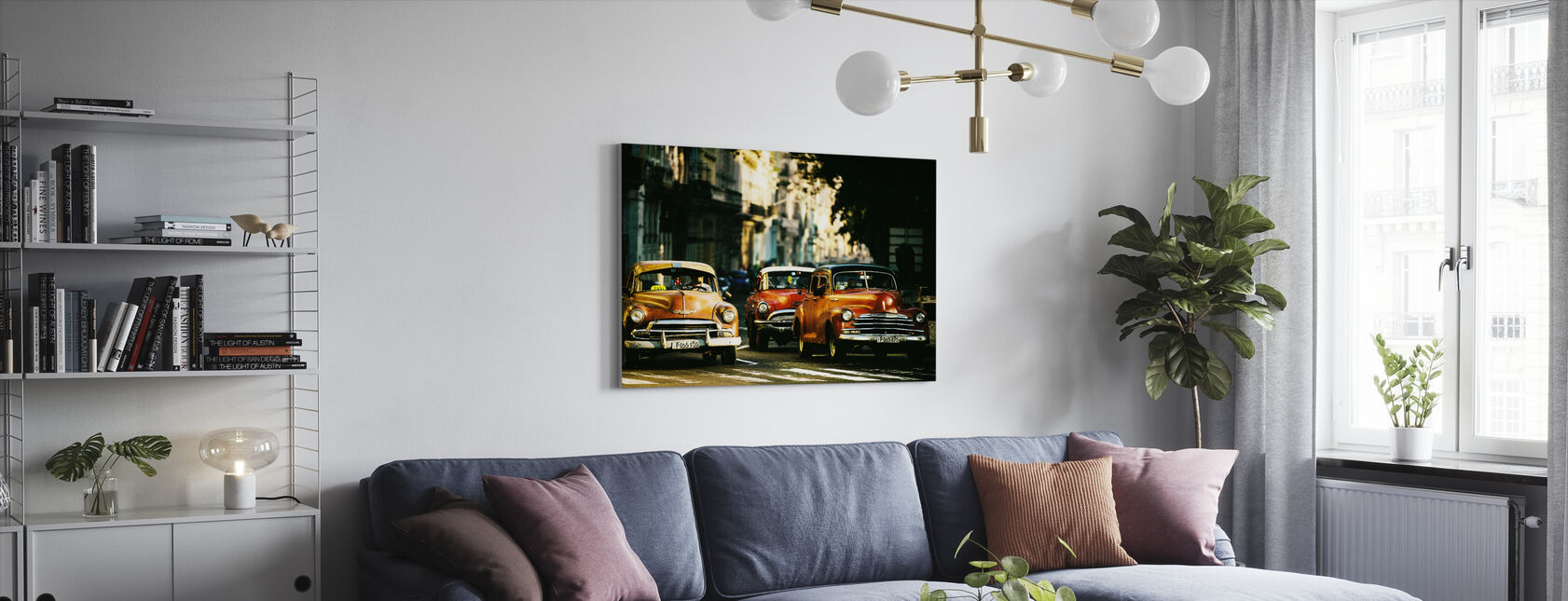 Come with Me in the Morning Light - Canvas print - Living Room