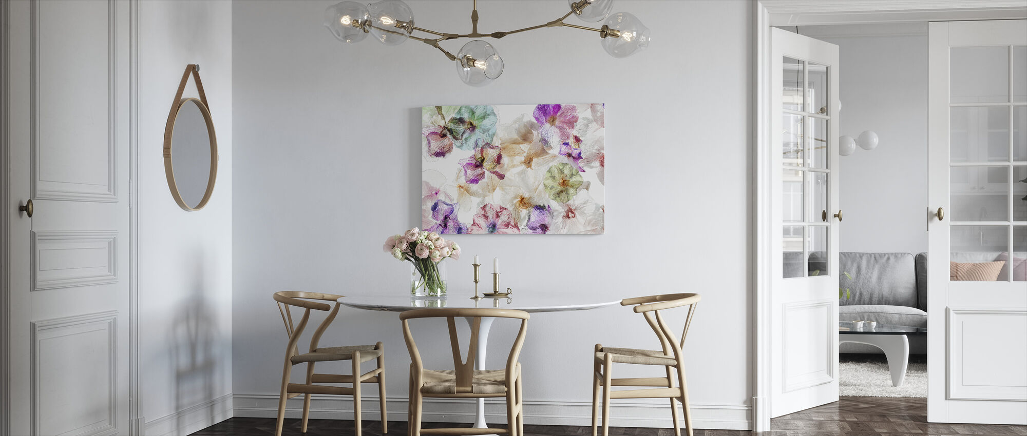 Ghost Orchids - Canvas print - Kitchen