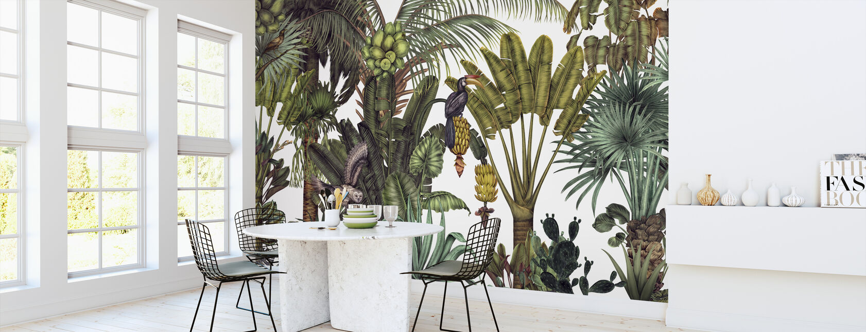 Find the Birds in the Jungle - Wallpaper - Kitchen