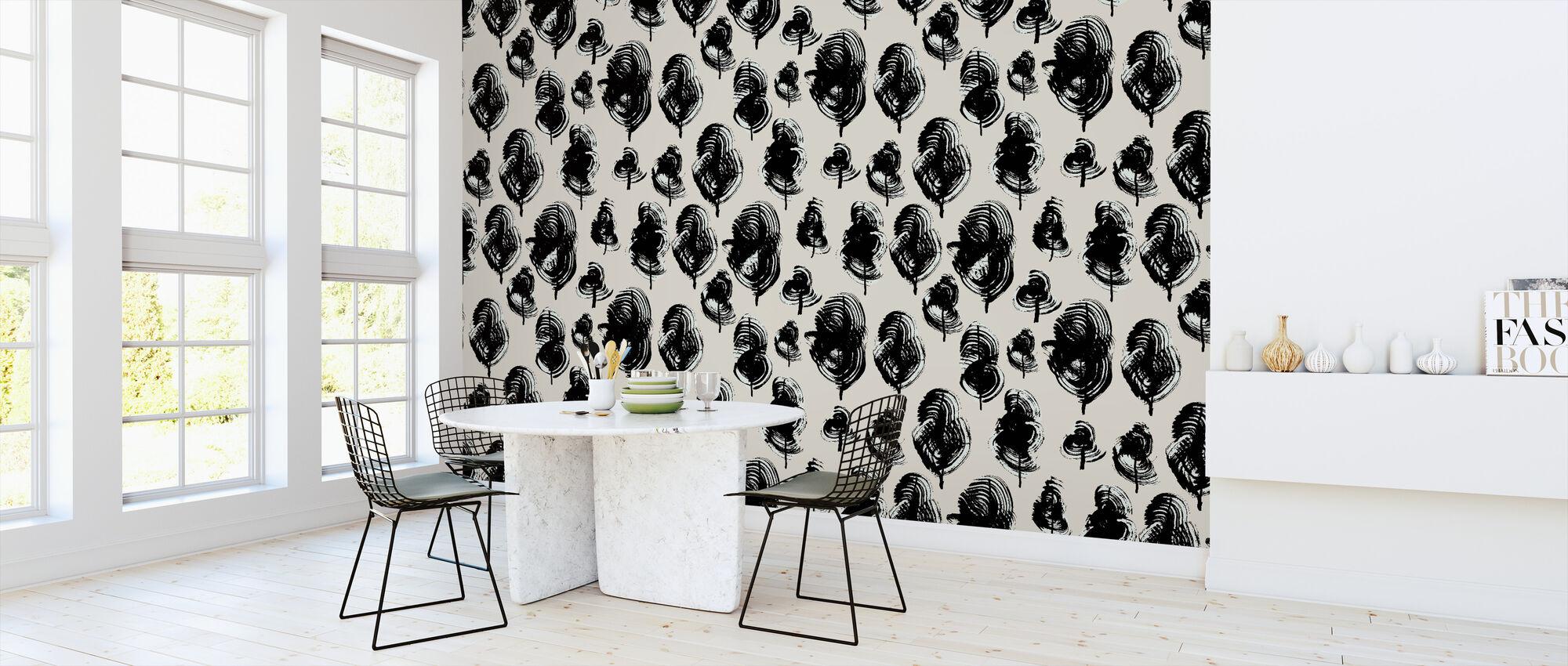 Leaves - Morning Light - Wallpaper - Kitchen