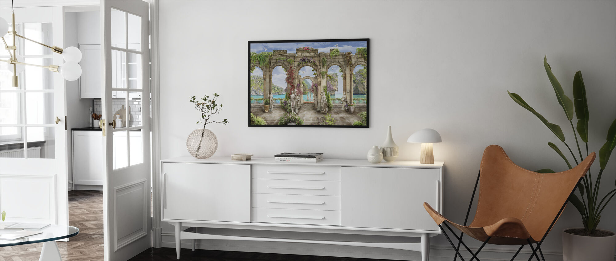 Palmyra - Framed print - Living Room