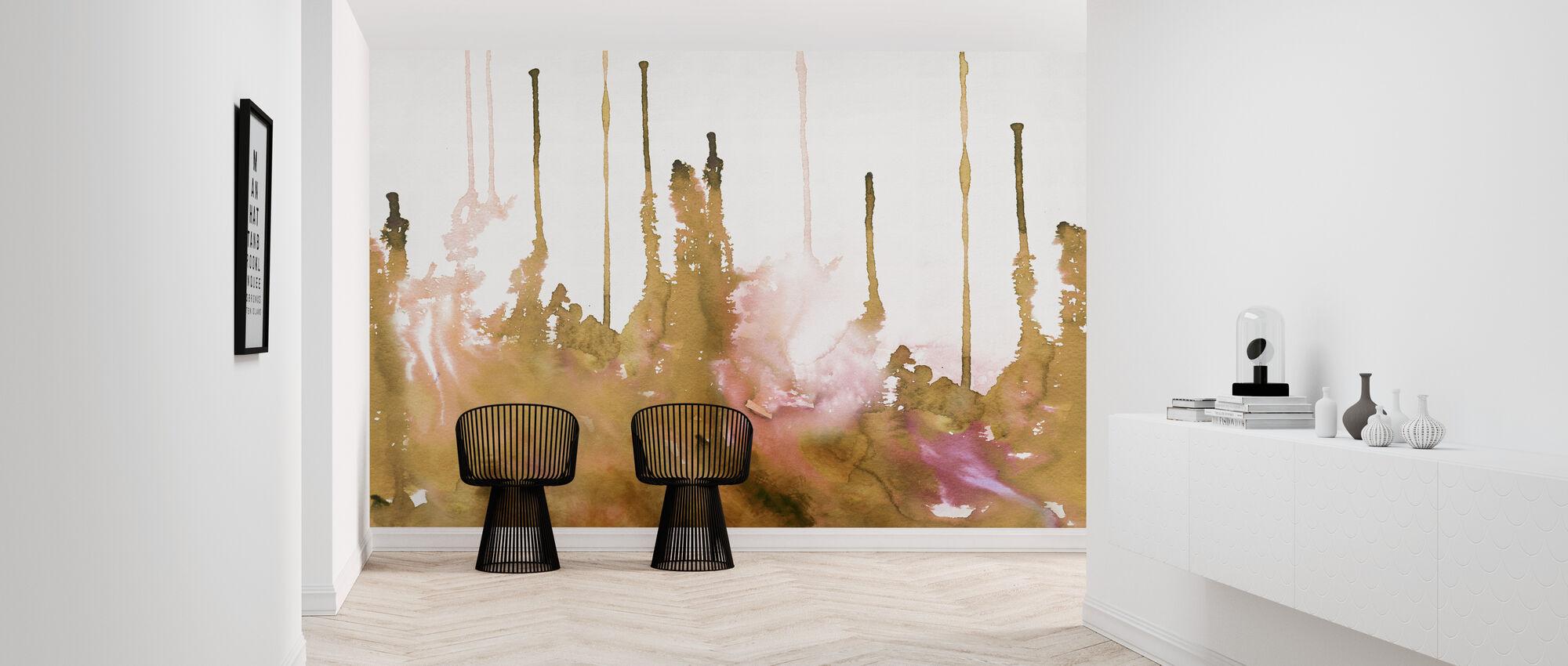 Watercolor Study - Hazel - Wallpaper - Hallway