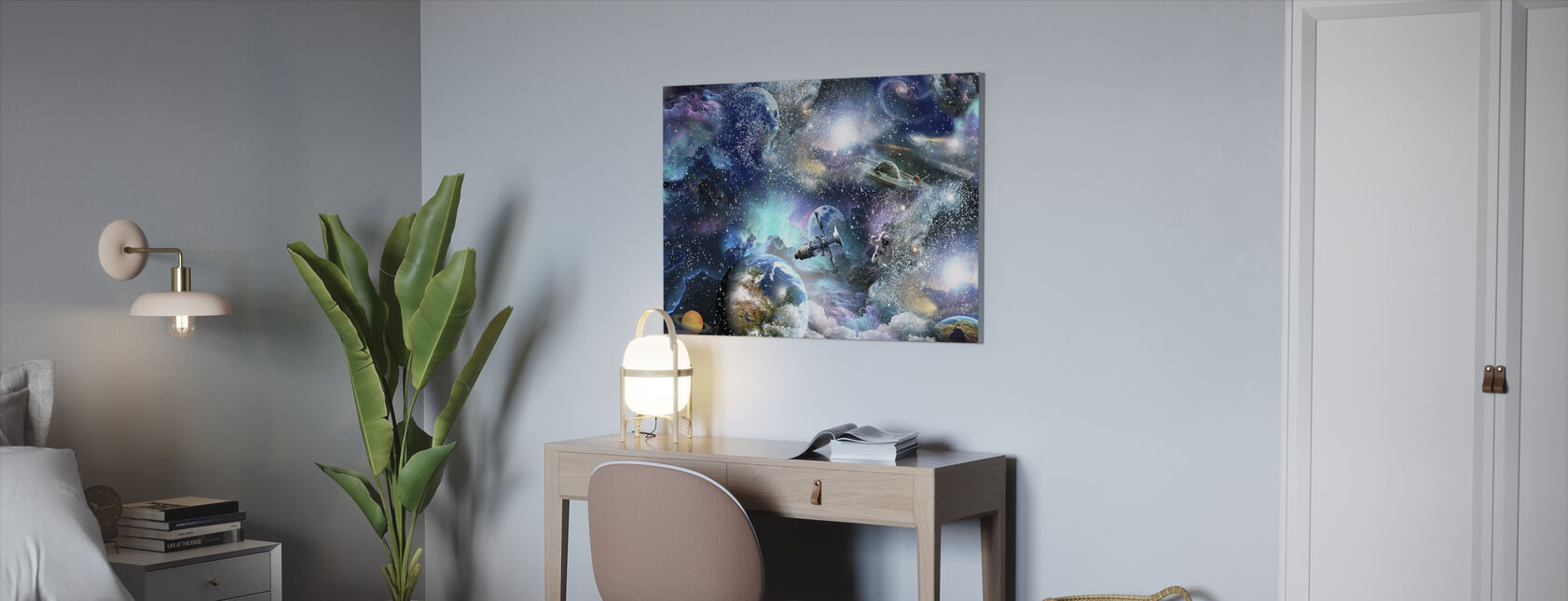 Space Essay - Canvas print - Office
