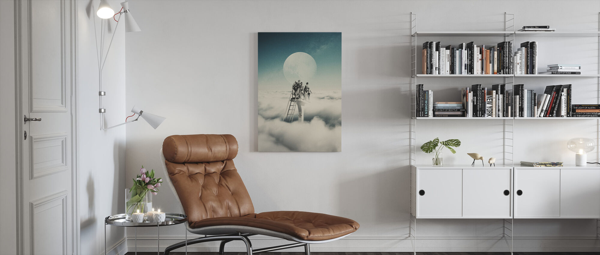 Dive at Your Own Risk - Canvas print - Living Room