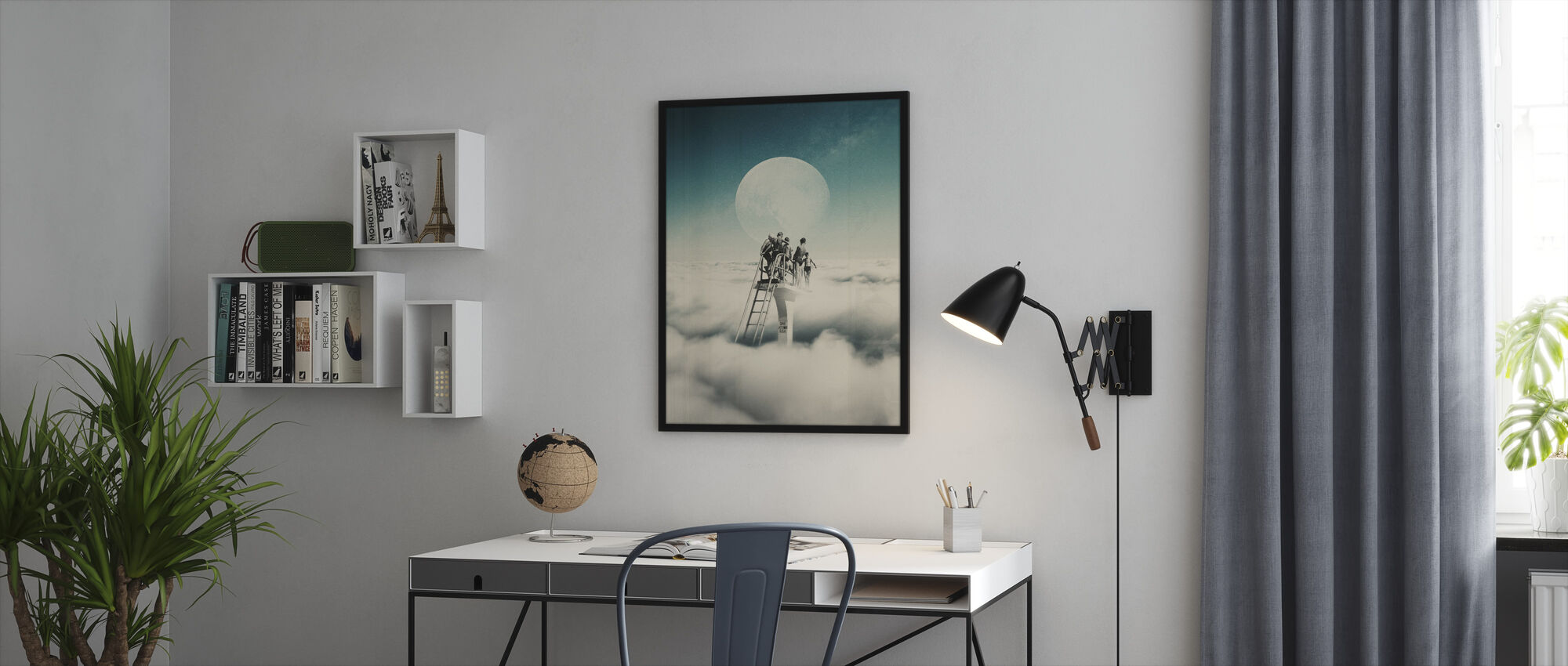Dive at Your Own Risk - Framed print - Office