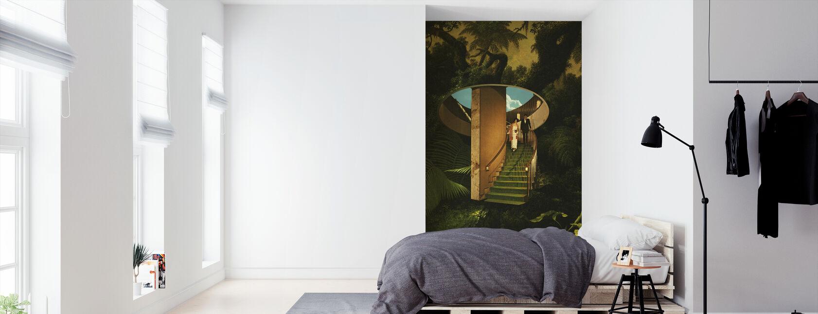 In het wild - Behang - Slaapkamer