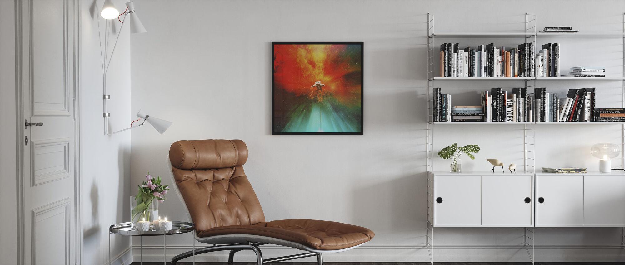 Stranded - Framed print - Living Room