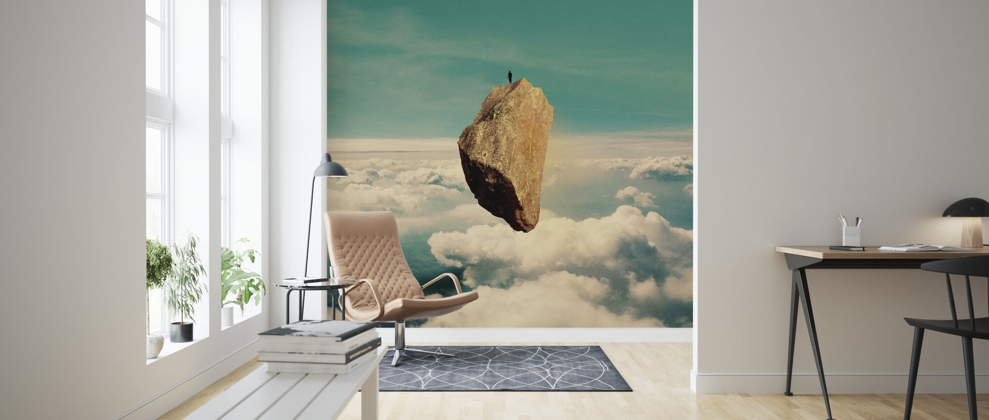 The Island - Wallpaper - Living Room