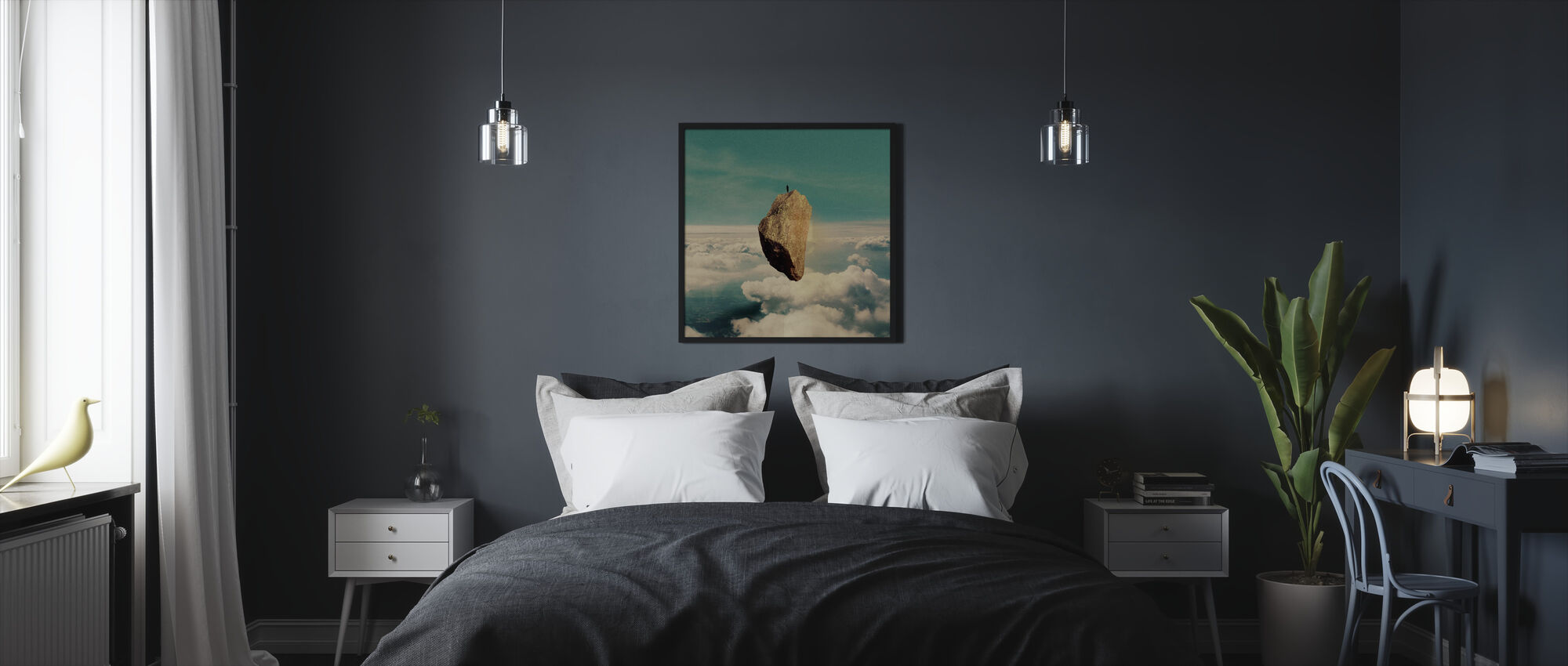 The Island - Framed print - Bedroom