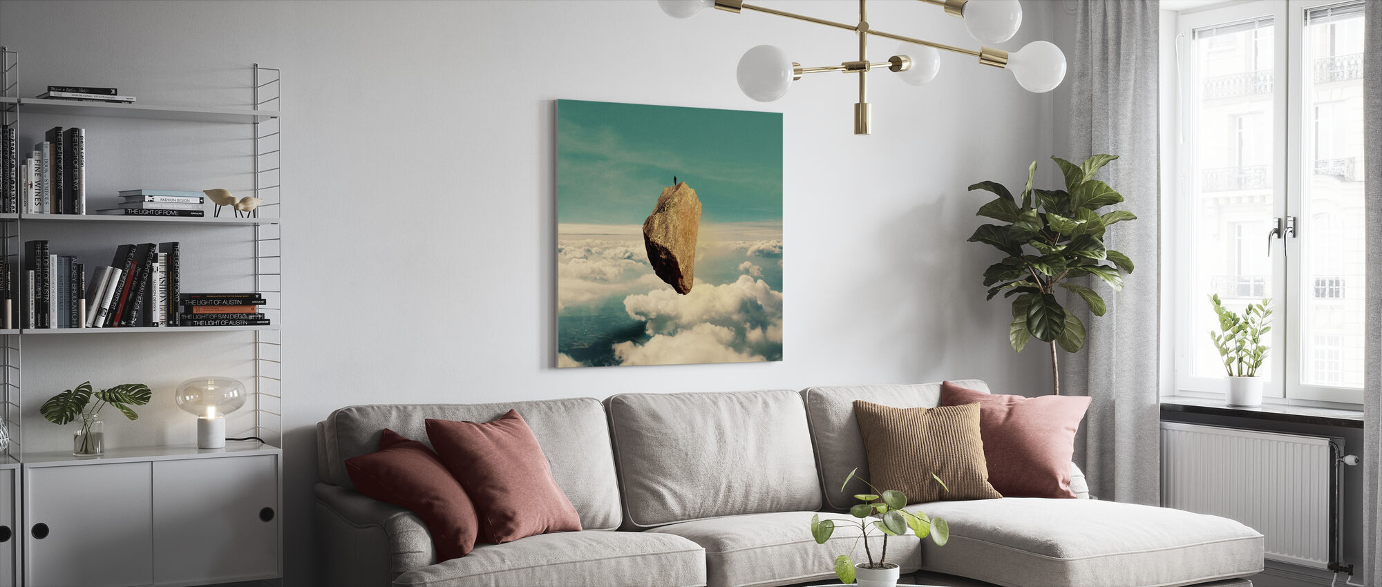 The Island - Canvas print - Living Room