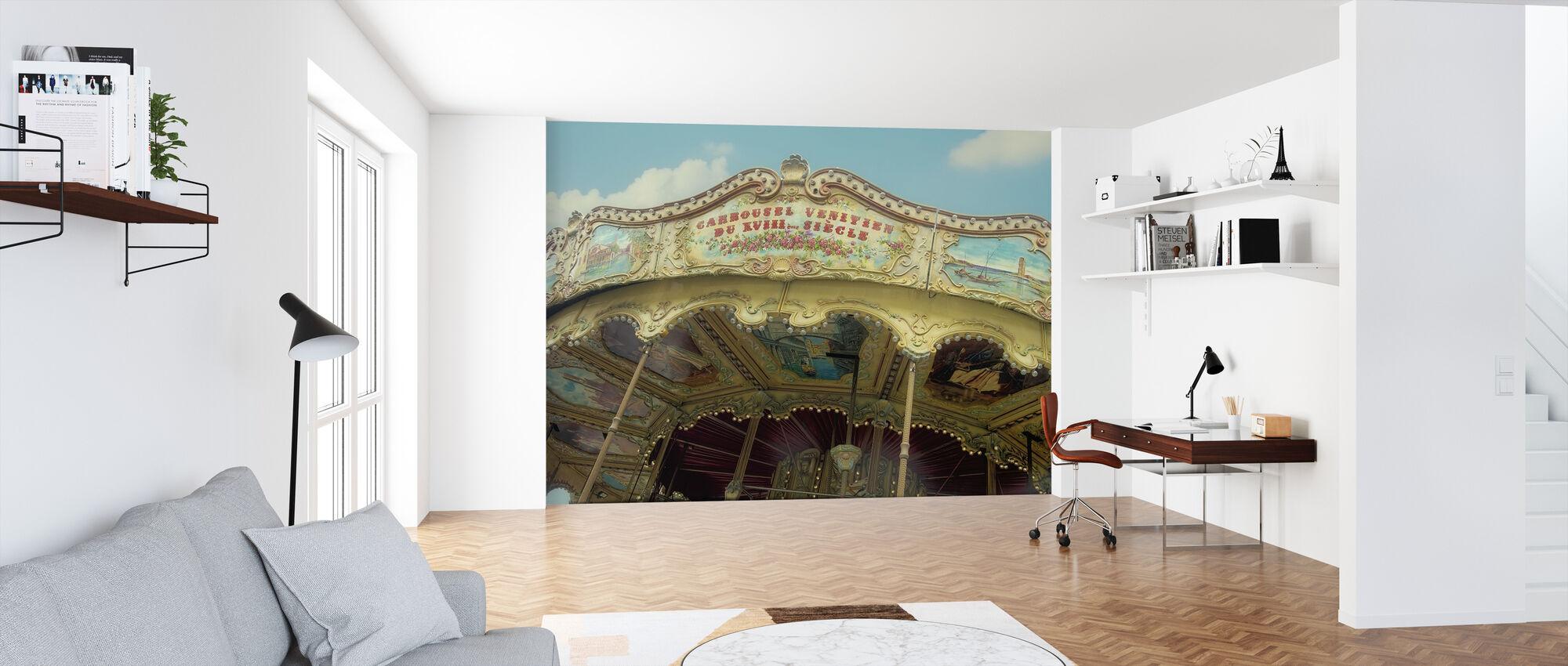 Carrousel Venitien Parijs - Behang - Kantoor