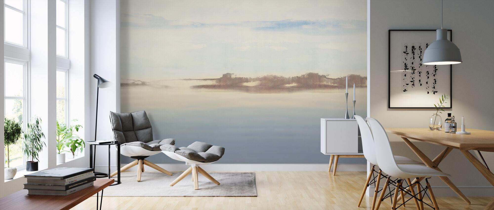 Dreamy Light I - Wallpaper - Living Room