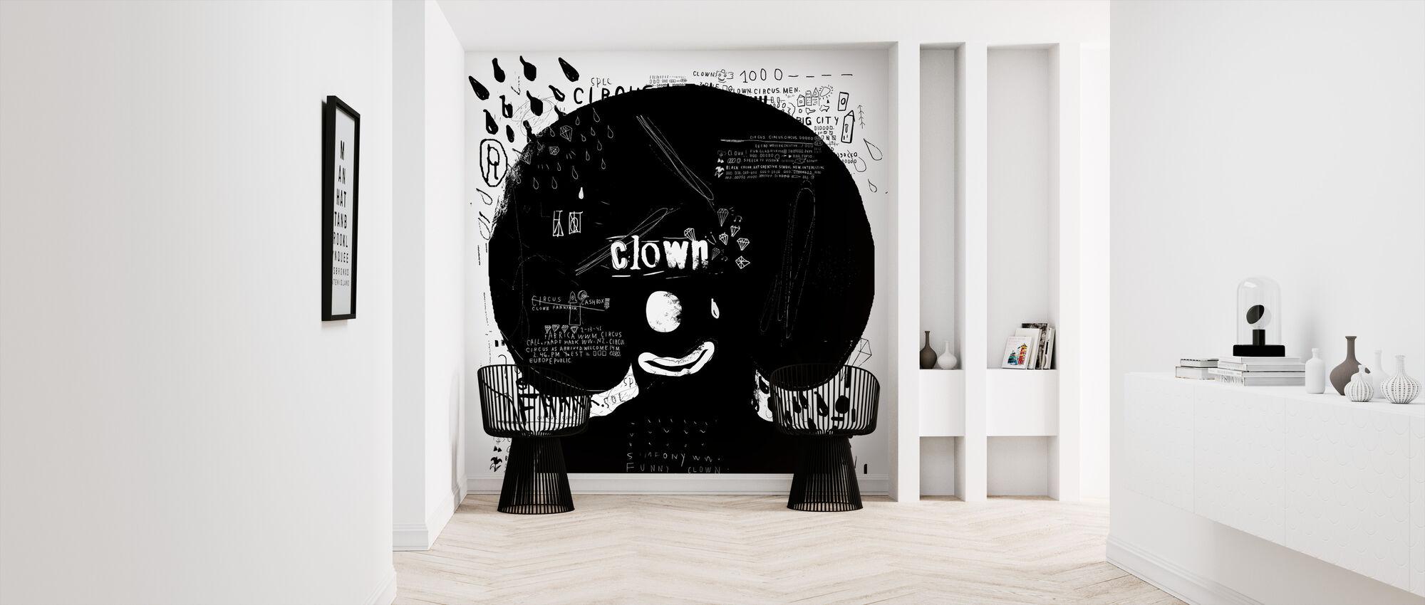 Clown - Wallpaper - Hallway
