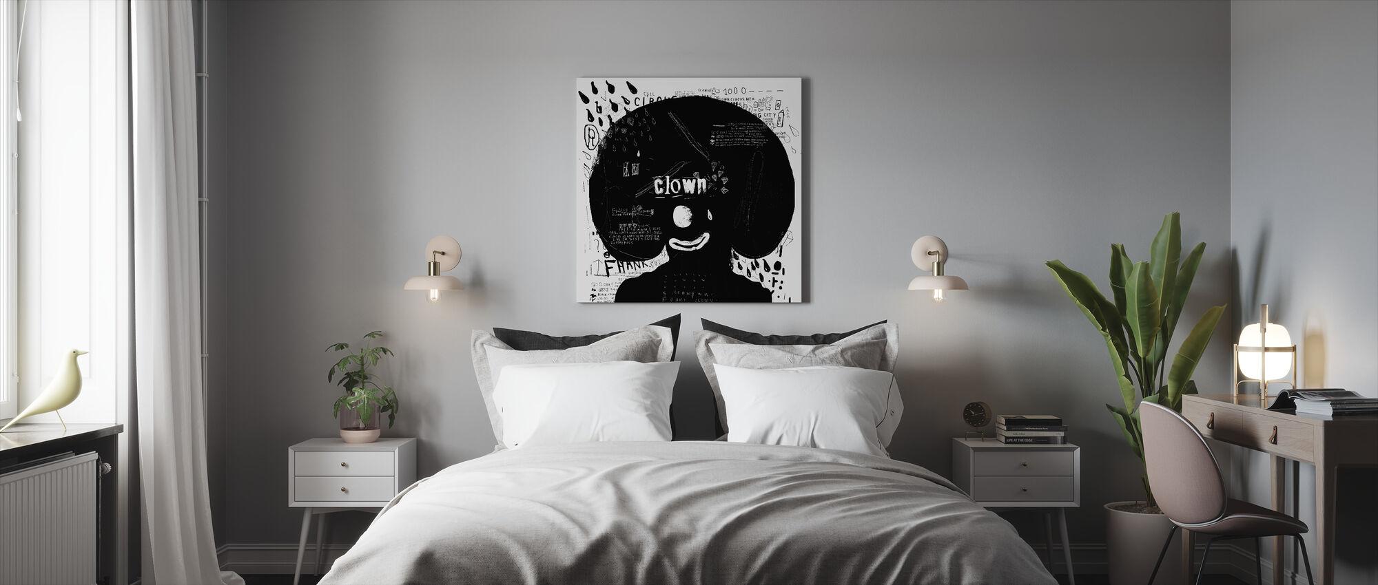 Clown - Canvas print - Bedroom