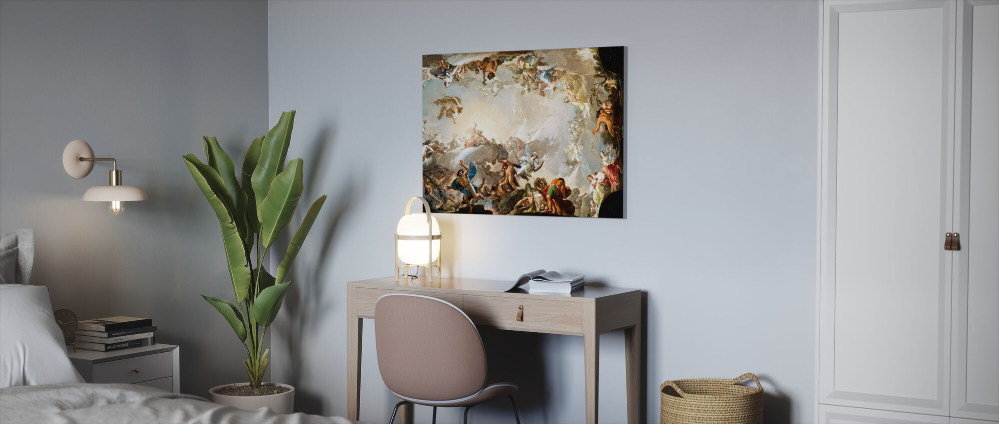 Renaissance-cirkel - Canvas print - Kantoor