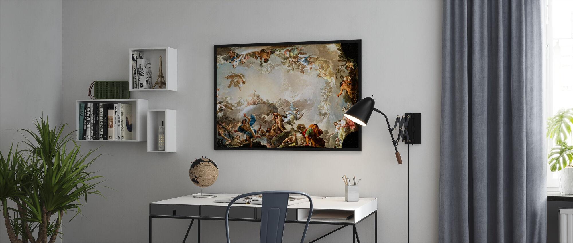Renaissance Circle - Framed print - Office