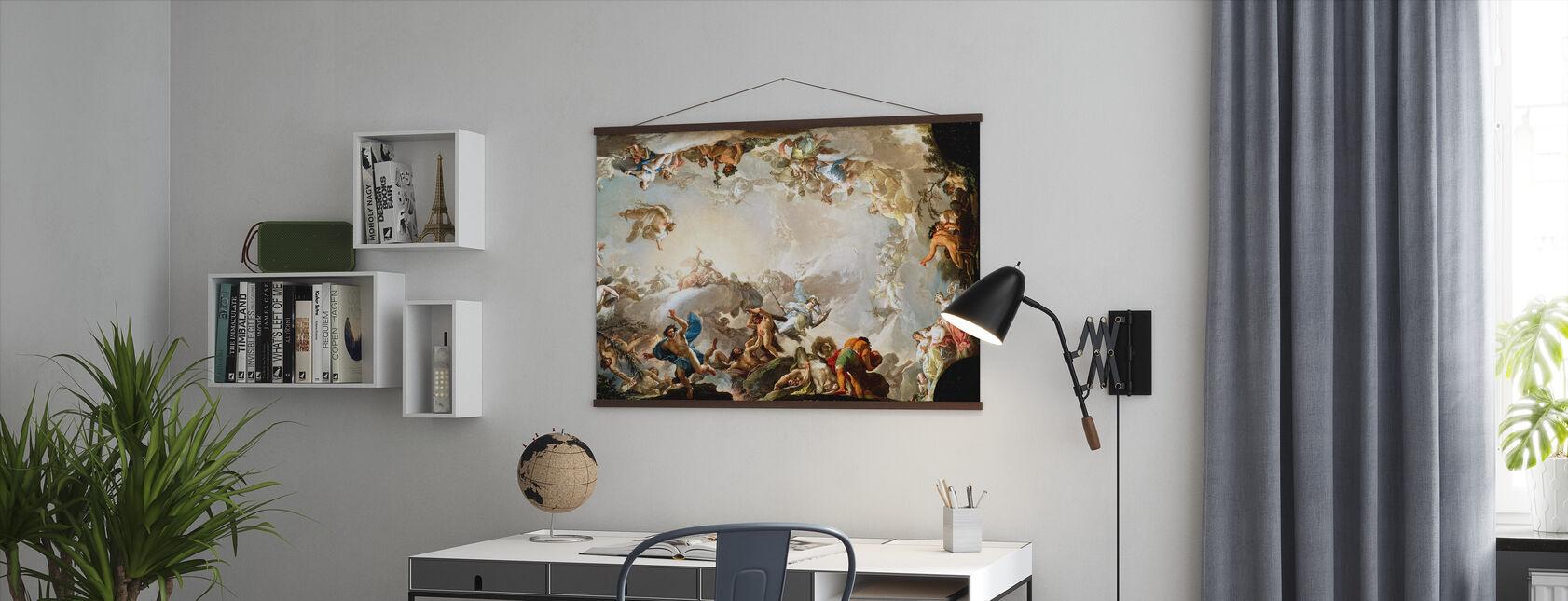 Renaissance-cirkel - Poster - Kantoor
