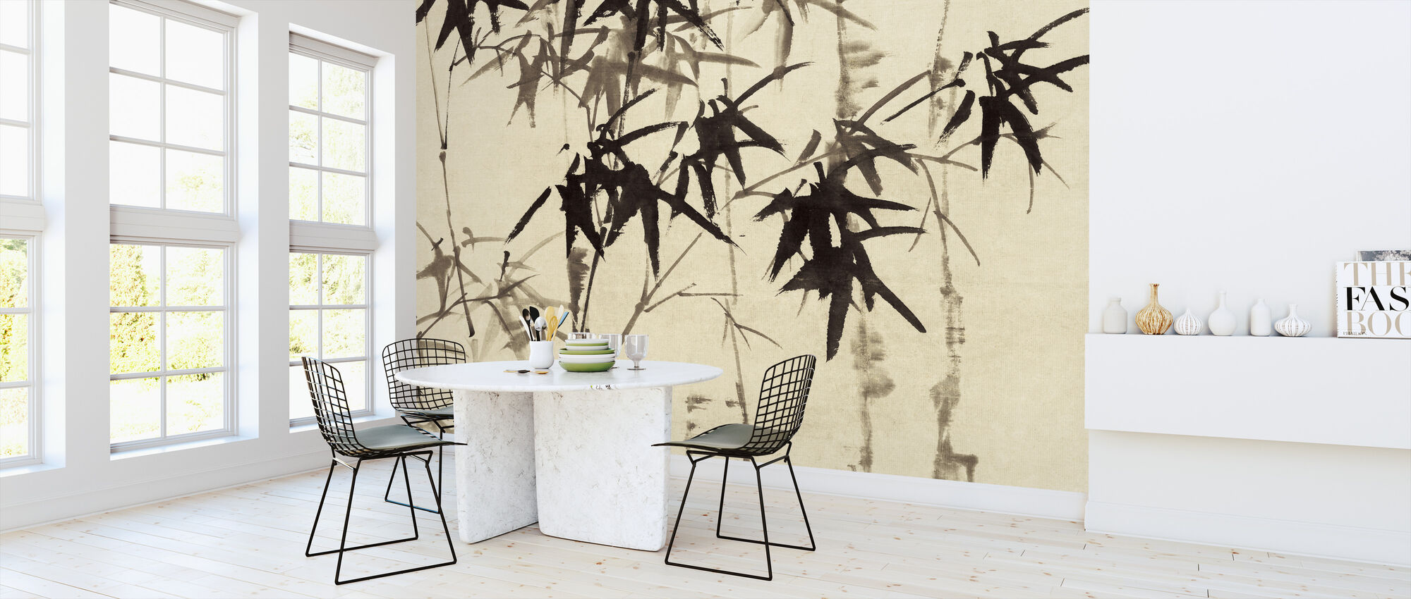 Bohemian Bamboo - Wallpaper - Kitchen