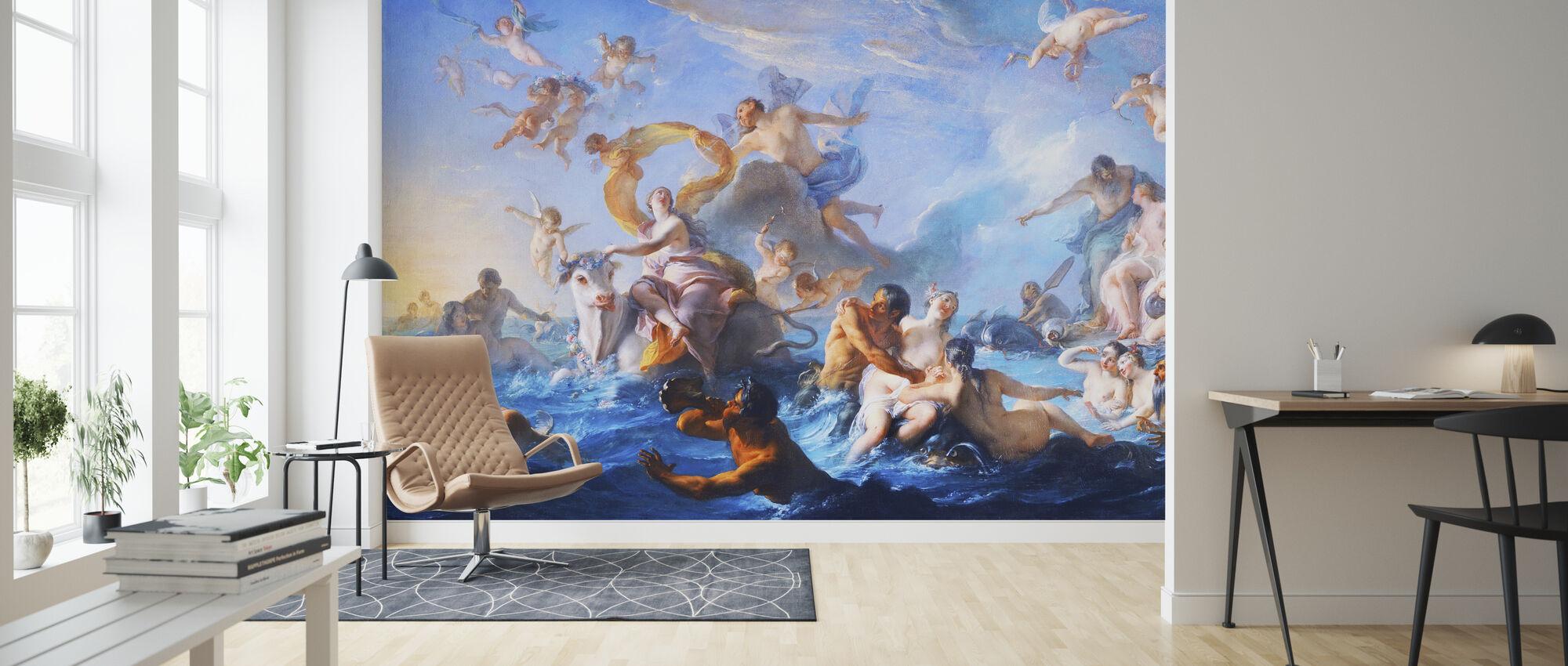 Abduction of Europa - Cora Wandel - Wallpaper - Living Room