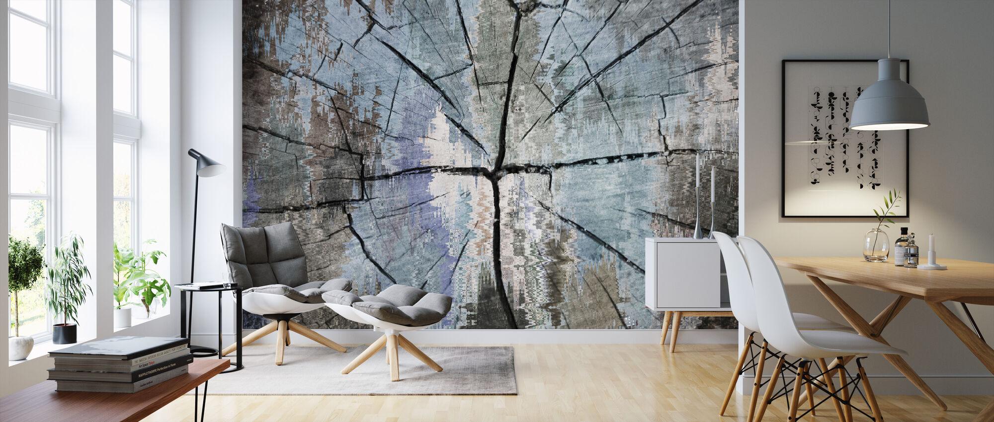 Stump - Wallpaper - Living Room
